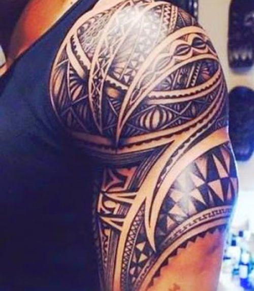 Shoulder Tattoos For Men: Best 25+ Tribal Shoulder Tattoos Ideas On Pinterest