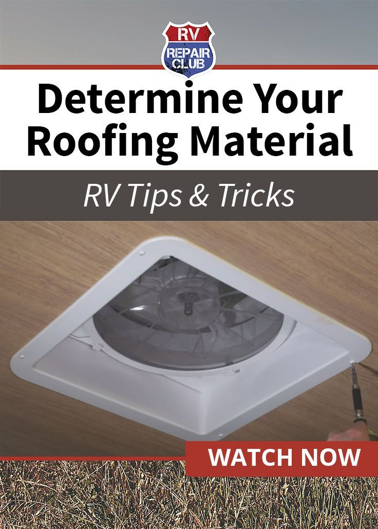 Which Type of RV Roofing Material Do You Have Roofing