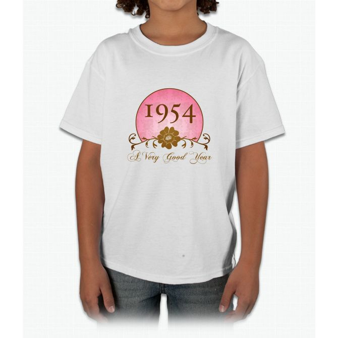 1954 Birthday For Her Young T-Shirt