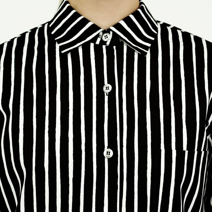In 1953 Vuokko Eskolin-Nurmesniemi designed the Piccolo stripe, a free hand stripe made with a paintbrush. Couple of years later she designed the Piccolo shirt that has become one of the most cherished icons of Marimekko // #marimekko #marimekkoaw15 // One of our all time favorites!