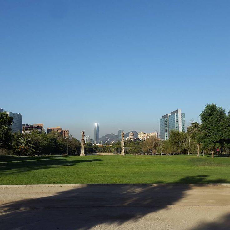 Paisajes urbanos. Santiago de Chile