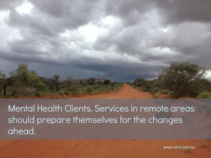 The Unfunded Client Group - mental health clients in remote areas