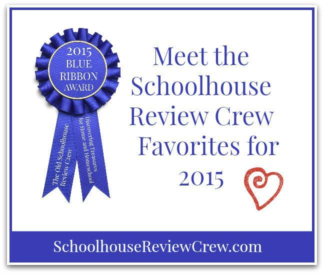 The Blue Ribbon Awards from The Old Schoolhouse Review Crew for 2015
