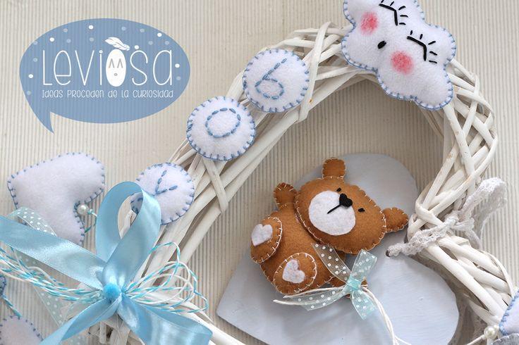Newborn decoration - FIOCCO NASCITA **Leviòsa**  https://www.facebook.com/Leviosa.blog