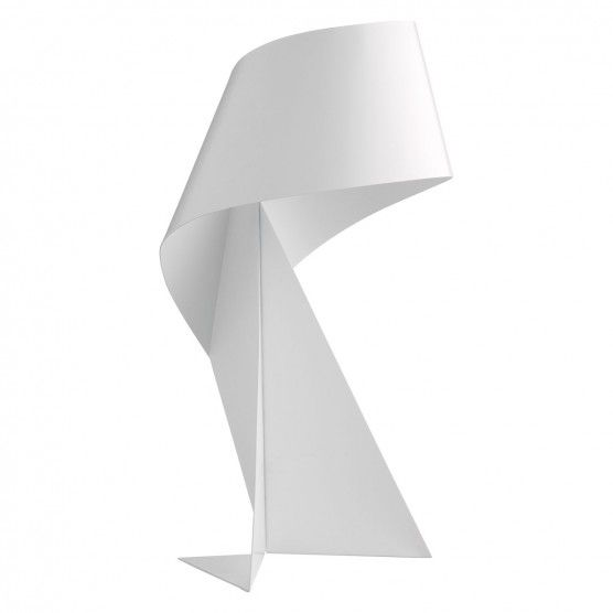 Ribbon White Mini Metal Table Lamp Metal Table Lamps Table Lamp