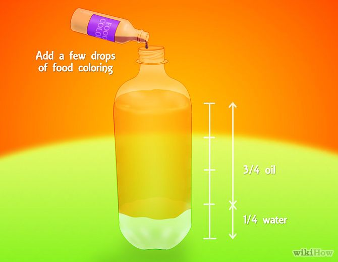 Make A Lava Lamp With Household Ingredients Make A Lava