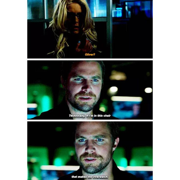 Oliver Queen is the new Overwatch #Arrow #OliverQueen #FelicitySmoak #Olicity #StephenAmell #EmilyBettRickards #Stemily #GreenArrow