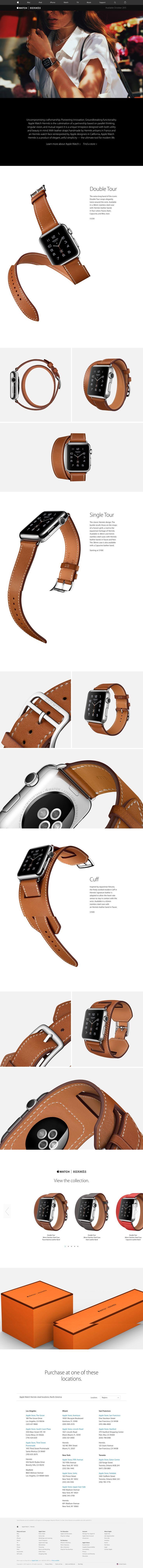 Apple - Apple Watch Hermes