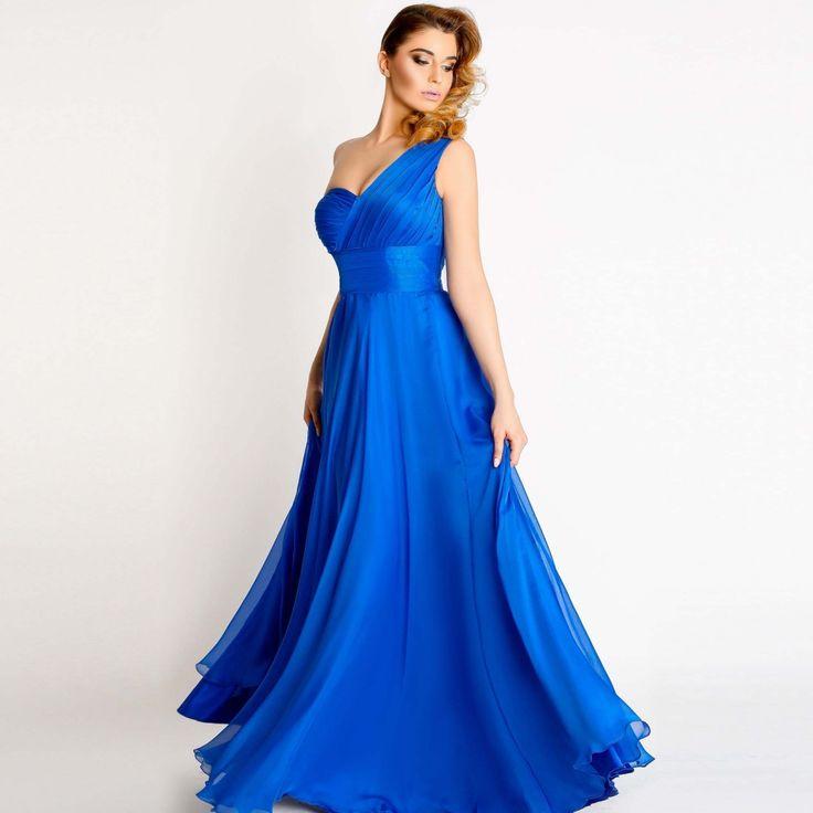 Vaporoasa, eleganta, rochie de seara Amina este potrivita pentru evenimente deosebite ca tu sa te simti unica. Descopera modelul si intreaga colectie Safen!
