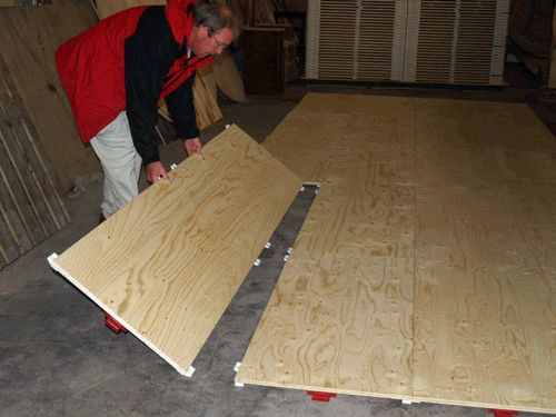 Plywood Dance Floor On Grass Temporary Modular Portable