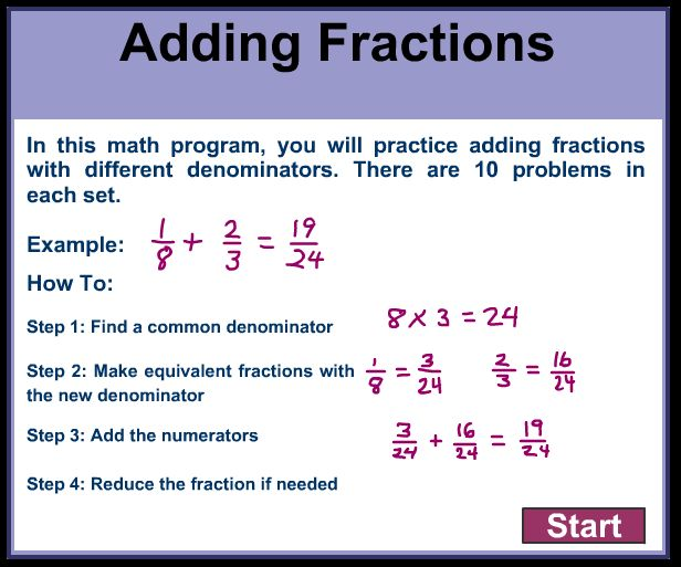 17 best ideas about adding fractions on pinterest adding and subtracting fractions math. Black Bedroom Furniture Sets. Home Design Ideas