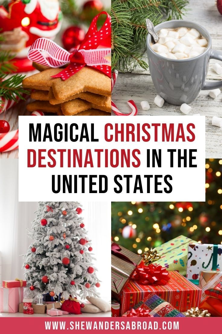 16 Best Christmas Vacations in the USA in 2020 | Best christmas