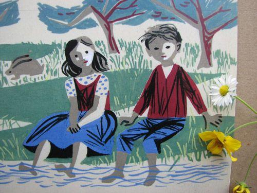 Maria Keil - Children's book illustration