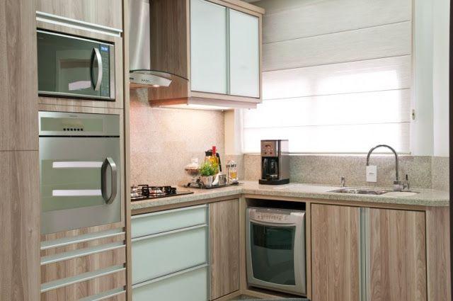 10 Cozinhas com bancadas de granito branco/claro - veja quais tipos usar e preços!