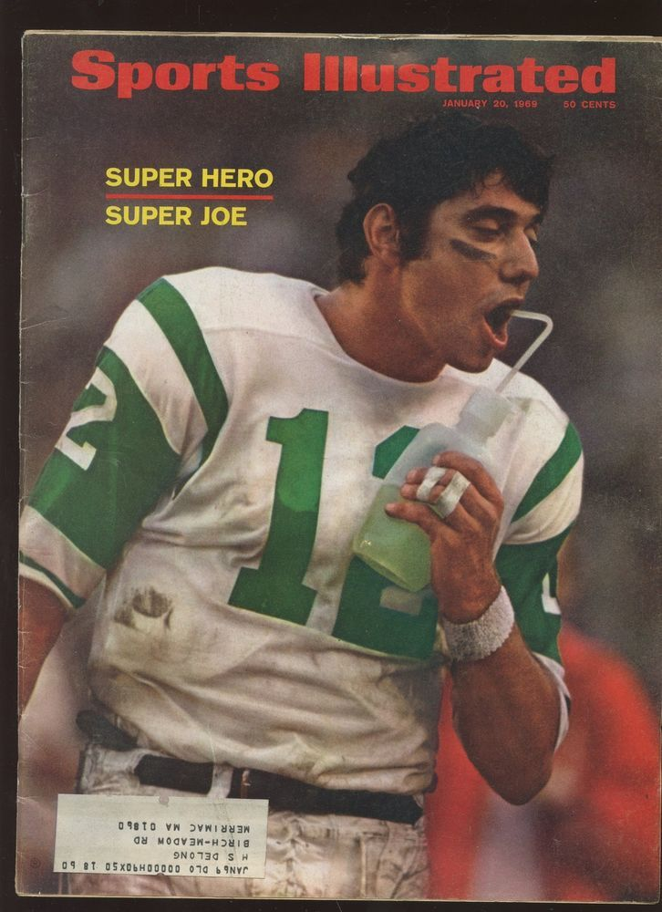 Jan. 20th 1969 Sports Illustrated Complete Magazine Joe Namath NY Jets EX+