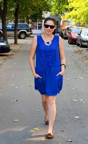 another side of me: OOTD: Royal Blue
