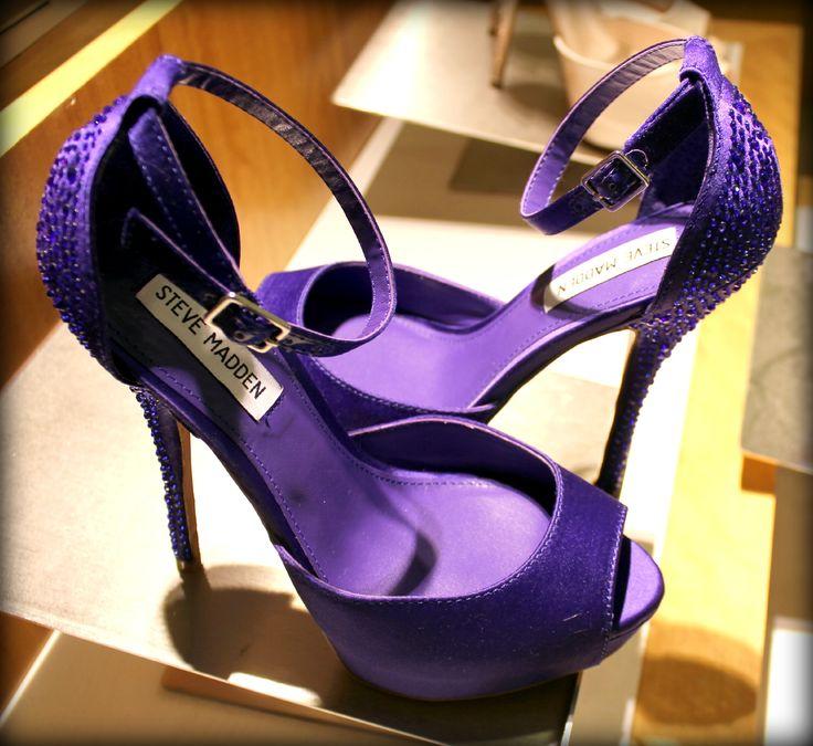 steve madden purple wedding shoes | Steve Madden storms Scottsdale !