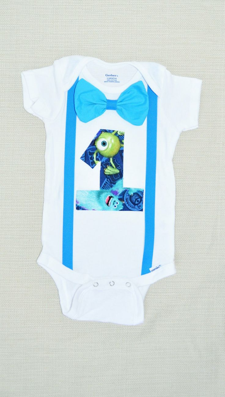 Rylo monsters Inc shirt Monsters Inc birthday onesie by RYLOwear, $18.00