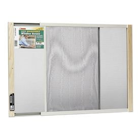 Frost King Adjustable Window Screen 18-in x 37-in
