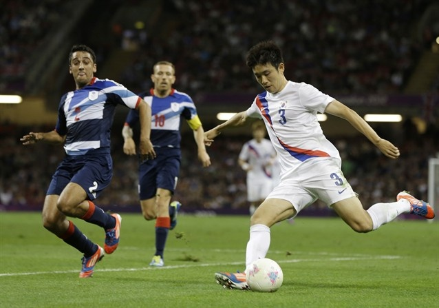 It was South Korea over Team GB last night as the game went down to a shoot-out