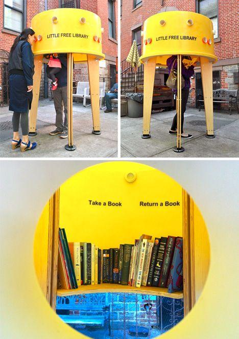 DIY Urbanism Free Library 2