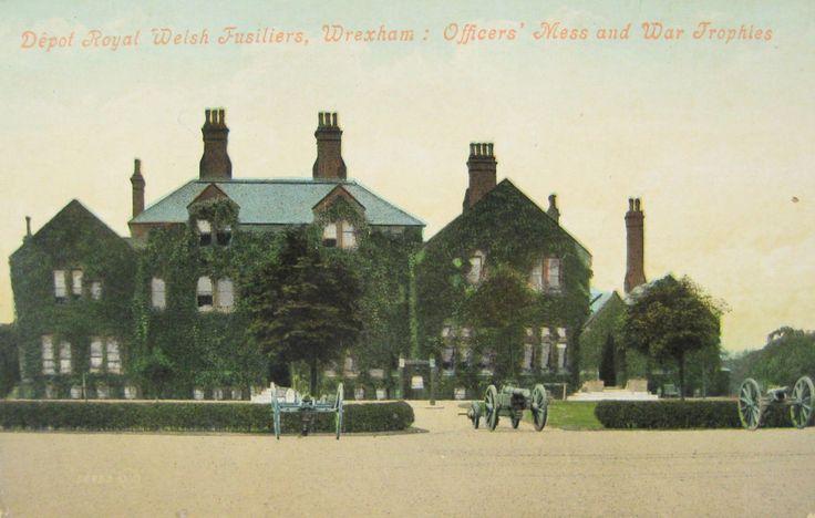 Officers' Mess, Hightown Barracks, Wrexham.