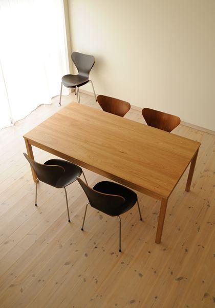 クルミダイニングテーブルtypeS W170cm / カグオカ