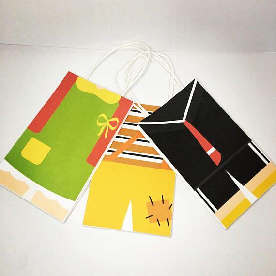 El Chavo Del Ocho Chilindrina Quico Kiko Goodie Bags Favor Bags Birthday Party Favour Bags Loot Bags Goody Bags Bolsas Para Bolo Treat Bag