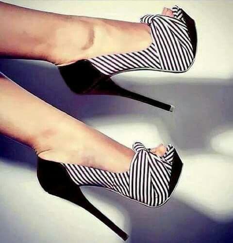 Zapatillas de rayas