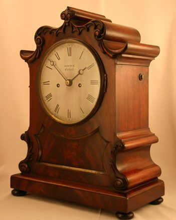 Antiques in Time - Sowter, Oxford English Antique Clock Circa 1845
