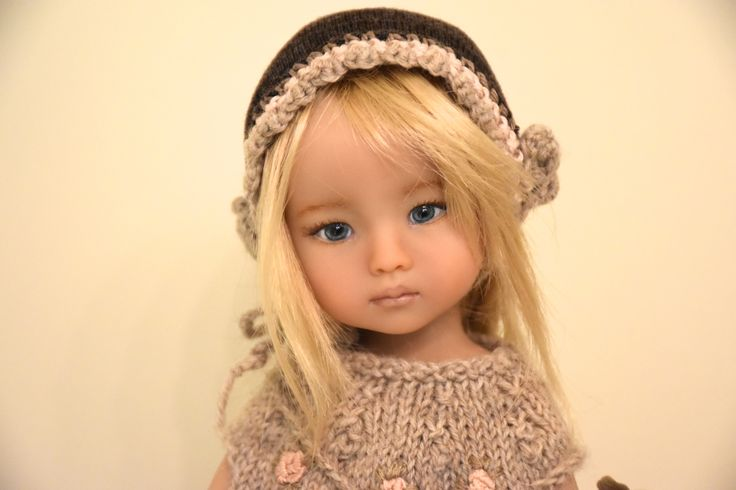 """Boneka Thursday's child 10""""(24 cm), sculpted by Dianna Effner, repainted and dressed by Laura Corti Dadatti - LCDolls"""