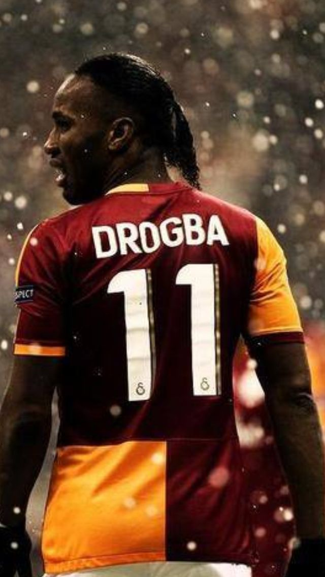 Drogba the best african football player, and a giant Drogbaaa😄😄