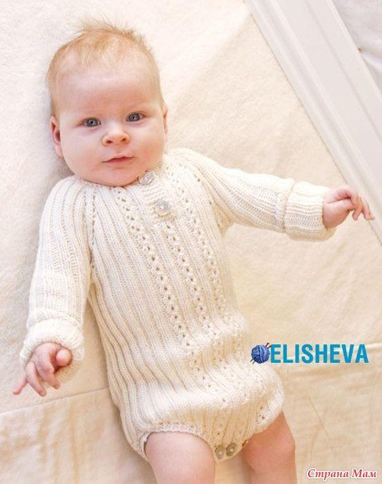 Такое боди, из мягко и тонкой мериносовой пряжи, можно применять с самого раннего младенческого возраста, даже если ребёночек родился недоношенным. И служить оно тоже может долго, до 4-х лет.