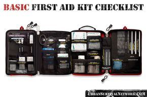 Urban Survival First Aid Kit Checklist | Urban Survival Network