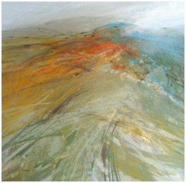 Ridgeway over Bowland Hills Norma Stephenson Pastel
