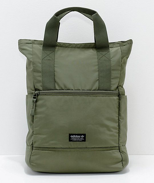 adidas Originals 11 Olive Tote Backpack