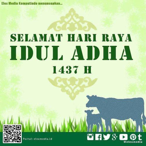 Elex Media Komputindo mengucapkan: selamat hari raya Idul Adha... IFTTT Tumblr