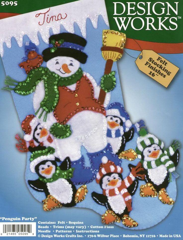 Bota pinguinos y hombre de nieve