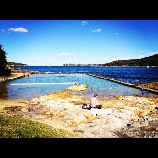 Amazing winters day along the coastal walk in Manly, NSW.