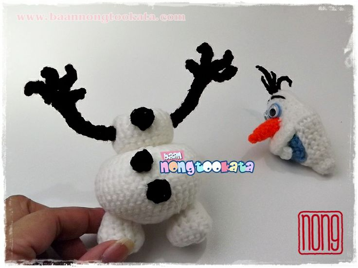 Amigurumi Olaf Tutorial : 25 best amigurumi crochet doll crochet cute doll crafts handwork