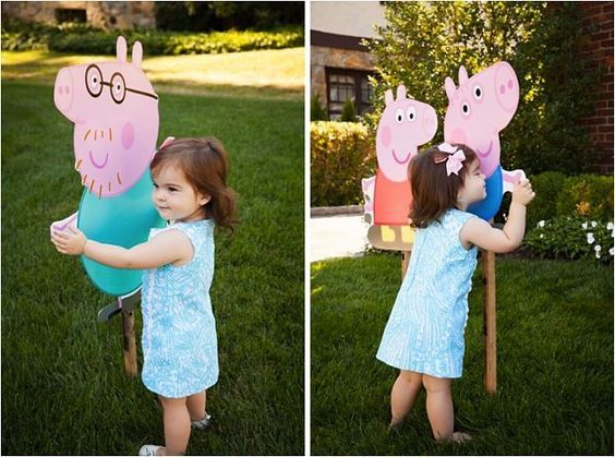 I threw my daughter a DIY Peppa Pig birthday party and it was a huge hit with adults and kids alike! Despite Peppa Pig's popularity with the toddler set, there are very limited Peppa Pig themed party goods in the States.