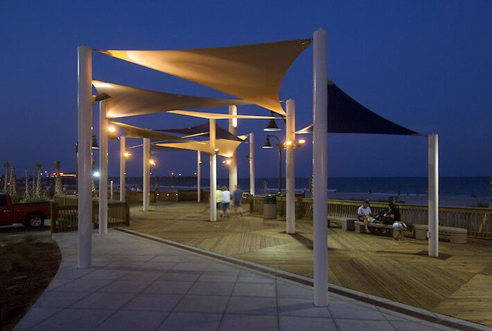 15 best canopy lighting images on pinterest shade for Sun shade structures