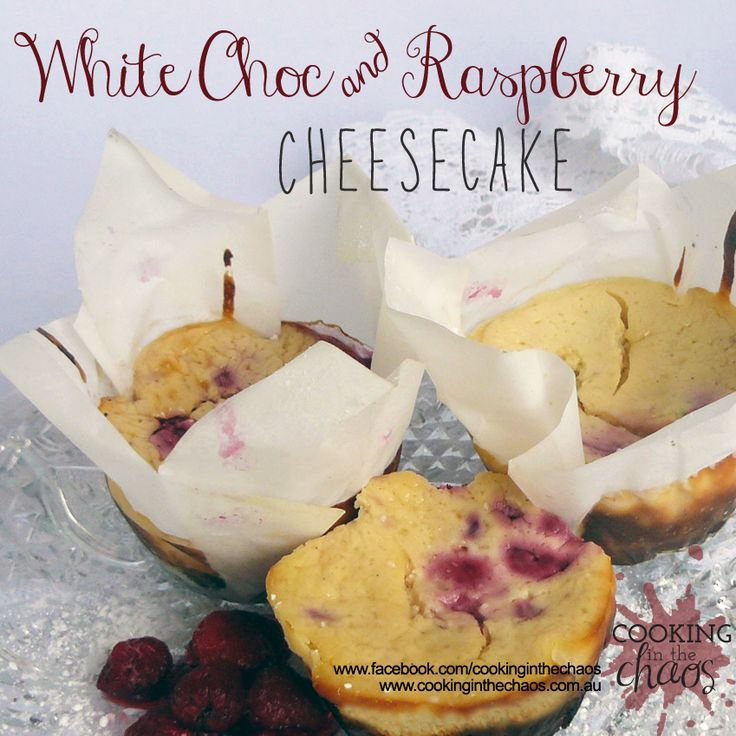 White Chocolate & Raspberry Cheesecake - Thermomix Recipe - Cooking in the Chaos