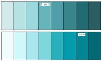 kleurenpalet blauw