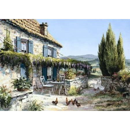 French country Canvas Art - Reint Withaar (20 x 28)