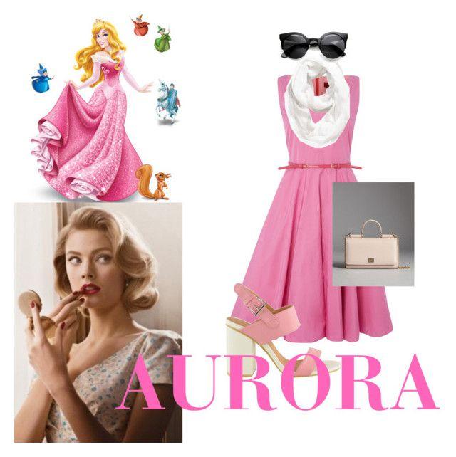 """Disney princess: AURORA"" by annie-john on Polyvore featuring MaxMara, Halogen and Dolce&Gabbana"