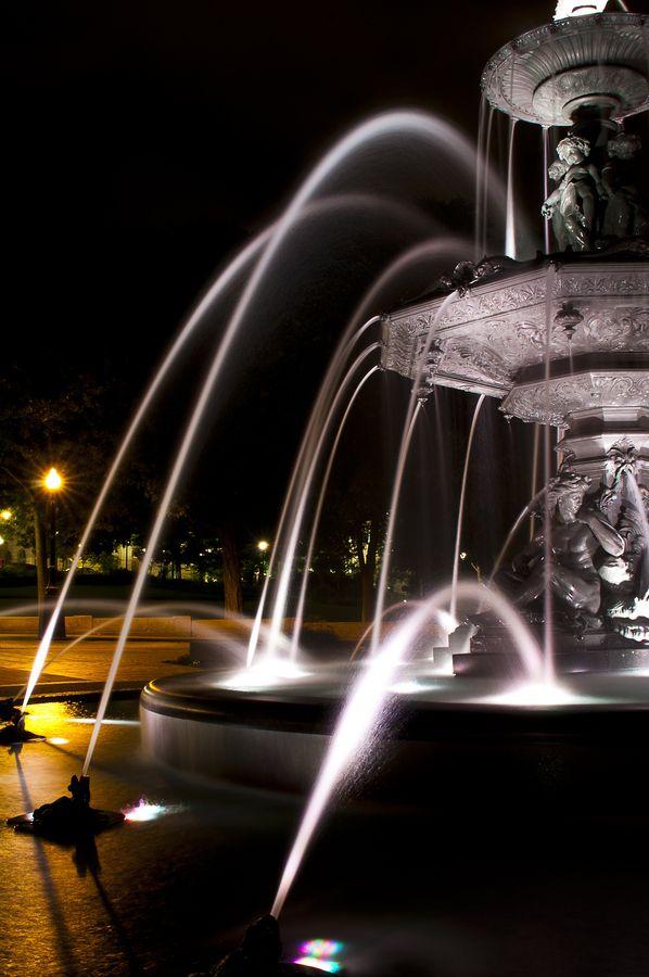Fountain in Vieux-Québec