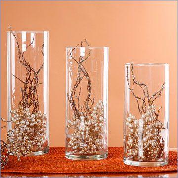non floral fall wedding centerpieces