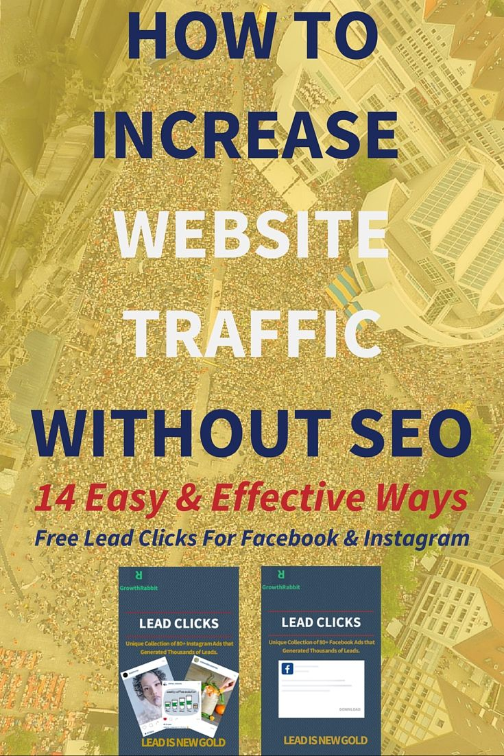 How To Increase Website Traffic Without SEO? 14 Easy Ways  Serious Blogging Tips For Beginners: When you are just starting out it is difficult to get organic traffic to your website. You might or might not be practicing SEO strategy but you have to understand that it is a long-term strategy.  Click through to read how? >>>