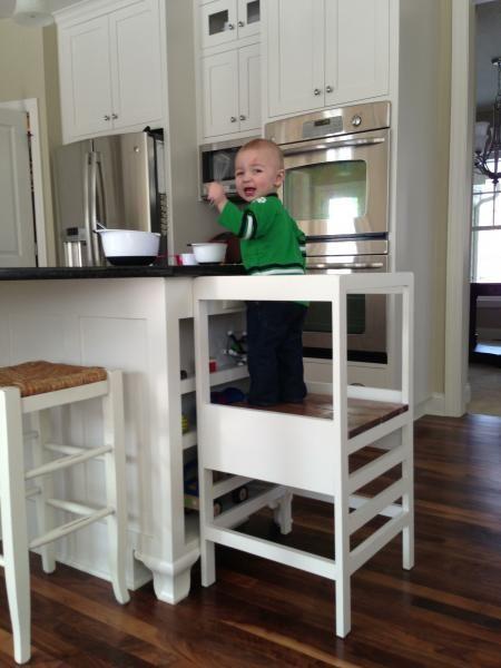 Oi gente tudo bem ? Vocês já conhecem a torre de aprendizagem Montessori? É um banco que fica na altura da bancada da pia da cozinha e serve para que as crianças possam subir e olhar o que está acontecendo ou até mesmoajudar e participar das atividades. Como segue o princípioMontessori, a ideia é estimular …